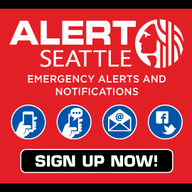 Sign up for AlertSeattle