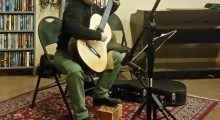 Classical Guitar Cabaret at Couth Buzzard