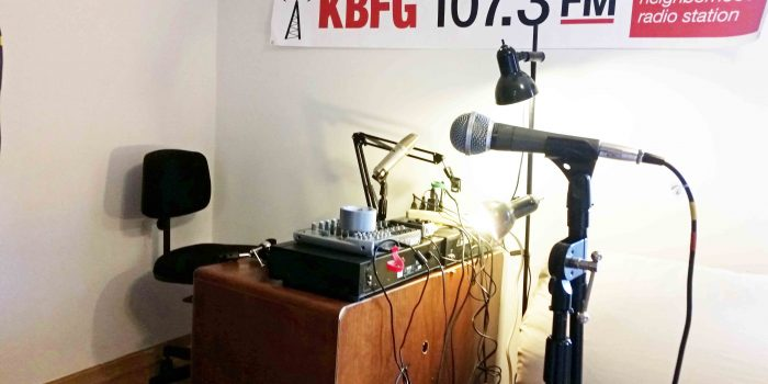 KBFG temporary studio