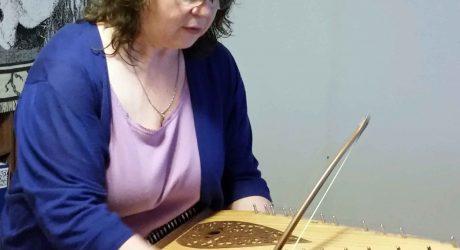 Storyteller / Musician Mary Dessein In The KBFG Studio
