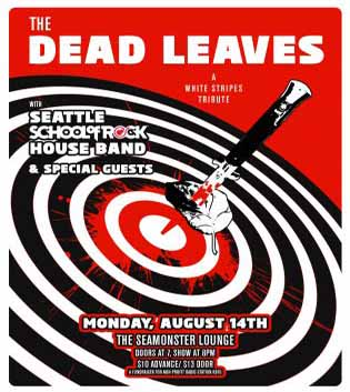 KBFG benefit/White Stripes tribute!