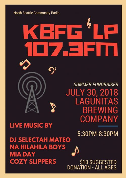 Summer Fundraiser at Lagunitas Brewing Company