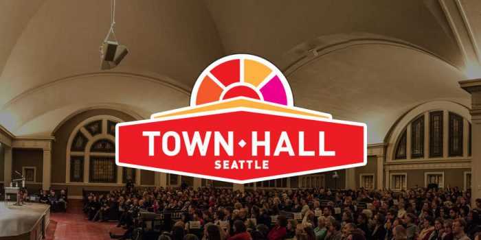 Town Hall Seattle is on KBFG!
