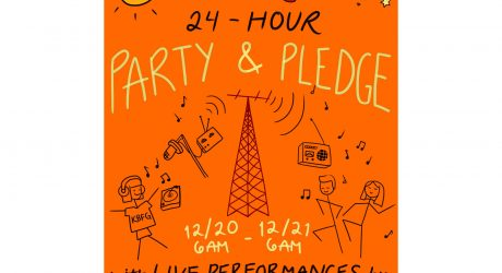 ON NOW!  24-hour Live On-Air Party & Pledge Drive!