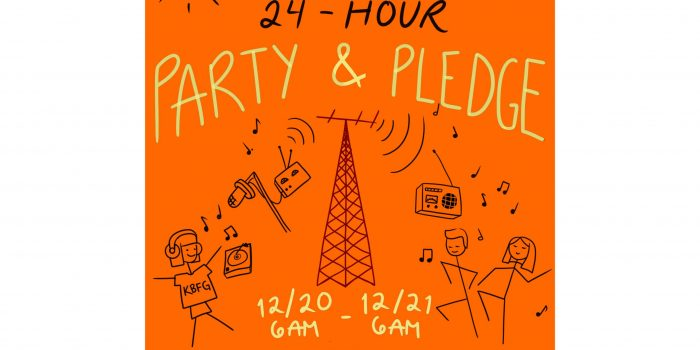 24-hour Live On-Air Party & Pledge Drive!